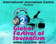 2nd Global Festival Of Journalism 2014