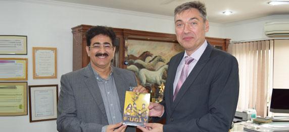 Bulgarian Ambassador at ICMEI