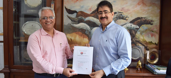 Sandeep Marwah Nominated Patron to ICOI