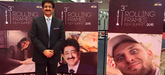 Sandeep Marwah Inaugurated 3rd Rolling Frames Film Festival