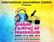 3rd Global Festival Of Journalism 2015
